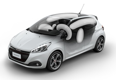 Airbags-Peugeot-Argentina-208GT