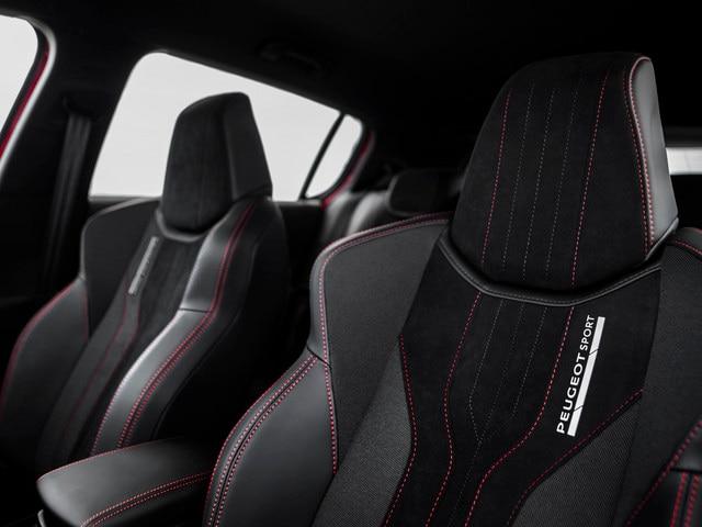 Placer sensorial - Materiales - Asientos Peugeot 308 GTi